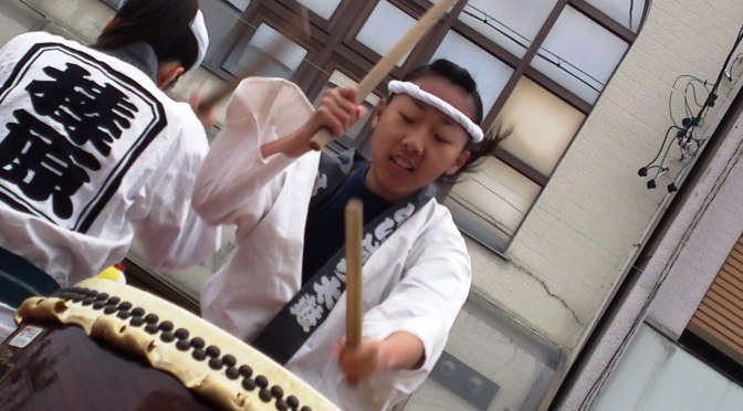 Drummers at Kanaya Tea Festival!
