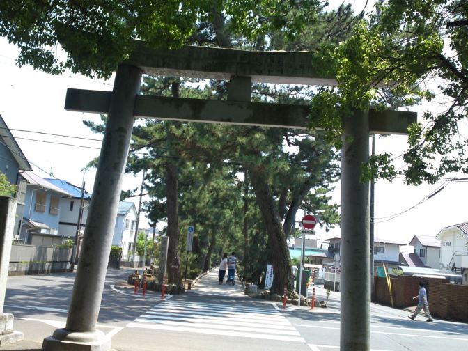 The Legend of Hagoromo in Miho Beach Pine Forest, Shimizu Ku, Shizuoka City!