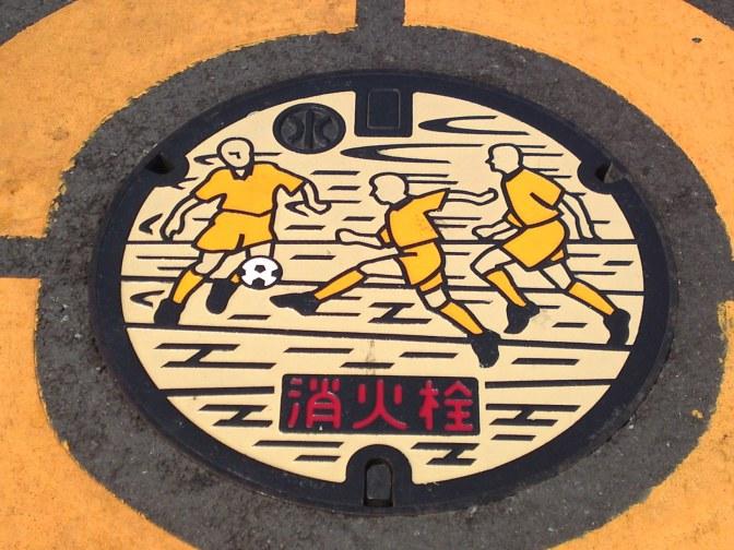 Manhole Covers in Shizuoka Prefecture 34: Along the Miho Beach, Shimizu ku, Shizuoka City!