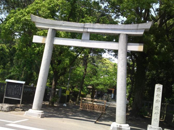 Miho Shrine (美保神社) at Miho (美保) in Shimizu Ku, Shizuoka City!