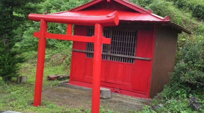 Inari Myoujin Shrine in Umegashima, Shizuoka City!