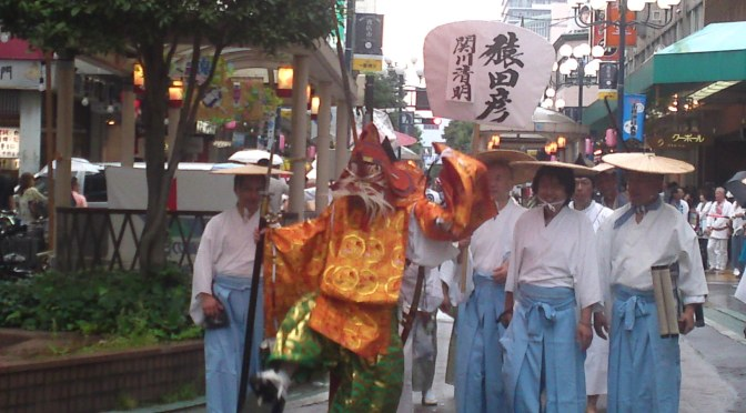 Ogushi Shrine Festival (小梳神社 祭) in Shizuoka City 3: The Parade!
