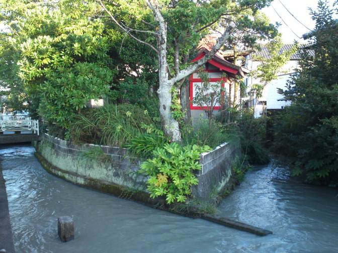 Floating Shinto Shrine in Shimada City!