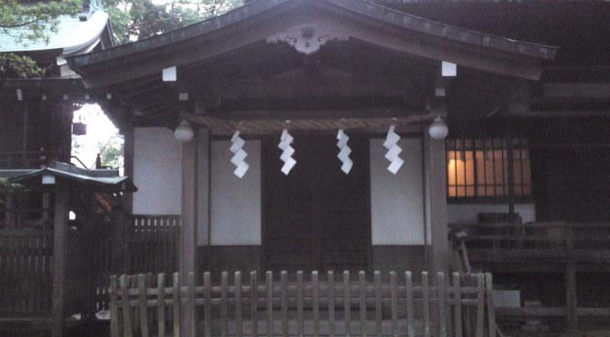 Ooi Shrine (大井神社) in Shimada City (2): Ooi Ebisu Shrine (大井恵比寿神社)