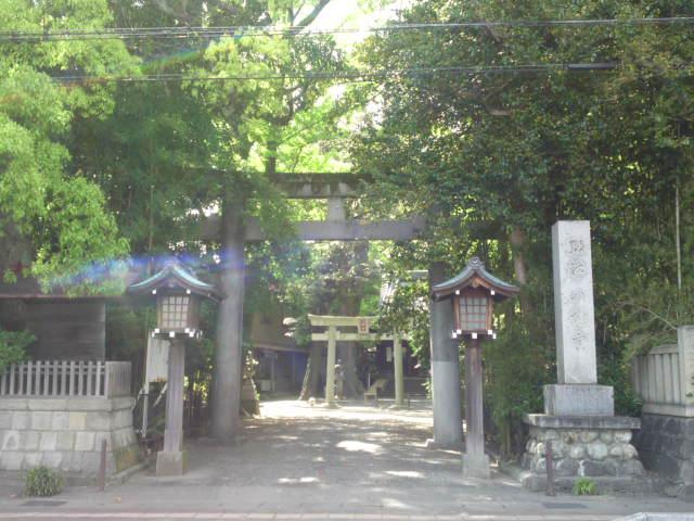 Oshiba Shrine (小芝神社) in Shimizu Ku, Shizuoka City!