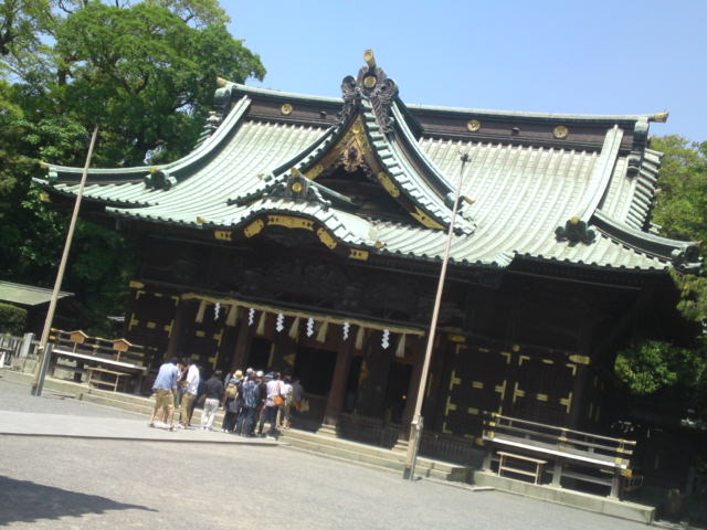 Mishima Taisha Shrine (三島大社) 1)