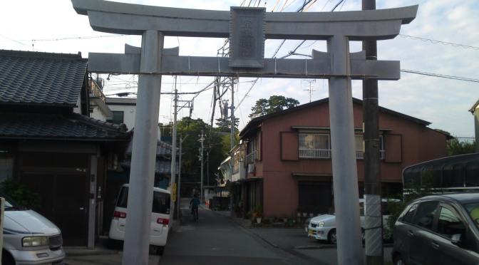 Munagata Shrine (宗方神社) in Okitsu, Shimizu Ku, Shizuoka City!