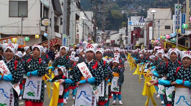 The 3 Big Shimada City Festivals in 2016 and Beyond 1: Kanaya Tea Festival