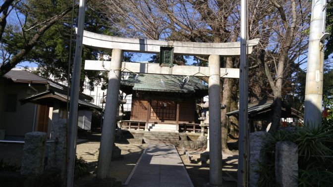"Wata (also called ""Mizu"") Shinto Shrine-水神社 in Shizuoka City!"