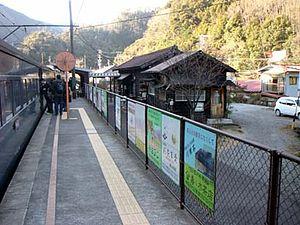 OOIGAWA-LINE-KAWANEONSEN-SASAMADO