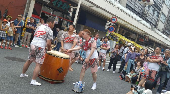 Gion Festival in Yoshiwara, Fuji City (2016) 4): The Drummers!