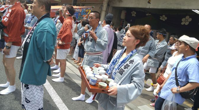 "Gion Festival in Yoshiwara, Fuji City (2016) 3): The ""Faces""!"