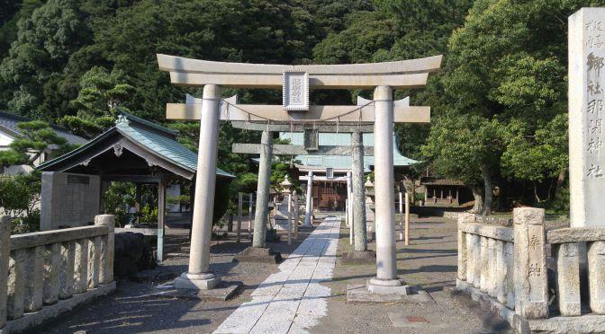 Nabe shrine (那部神社) in Yaizu City!
