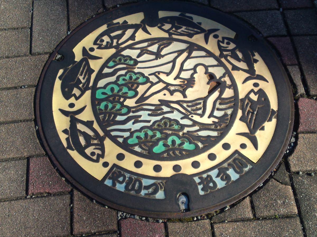 Shizuoka Gastronomy on Manhole Covers!