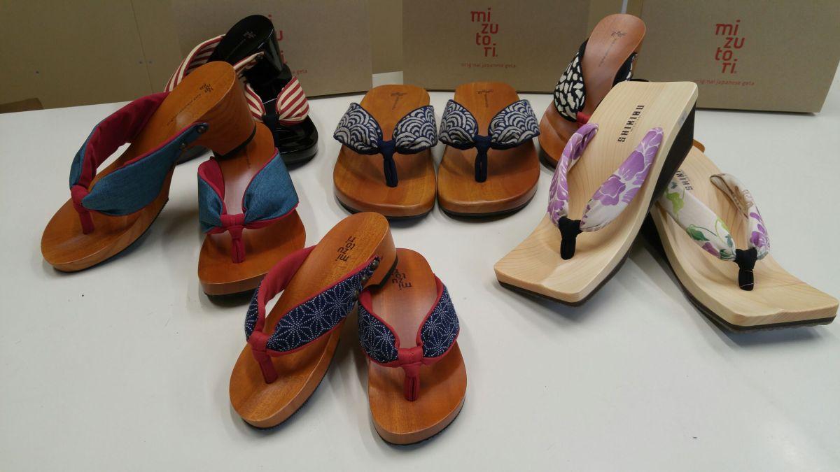 Mizutori Geta/Japanese Traditional Clogs/Sandals in Shizuoka City!
